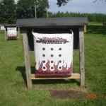 New morell targets installed.