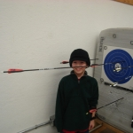 1st robin hood shot in history of OSC youth program.