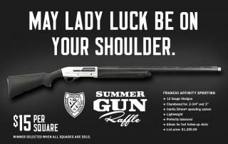 2014 Summer Gun Raffle
