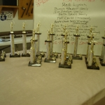 Tropies for 2007 Youth Archery Tournament
