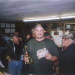 Kevin Hermanson w/ award