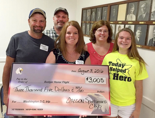 Badger Honor Flight Donation